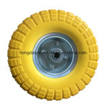 Flat Free PU Foam Wheel Hand Trolley Wheel Flat Free Tire PU Tire