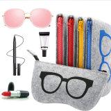 2017 Colorful Sunglasses Case for Women Men Glasses Box Felt Sunglasses Bag Eyeglasses Cases for Men Eyewear
