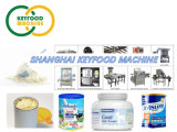 Milk Powder Bottle, Jar, Tin, Can Filling, Capping, Labelling Powder Packing Machine
