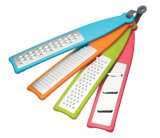 Set of 4 Handheld Graters, Colorful Multi-Functional Vegetable Slicer and Grater
