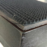 Granulated Chevron Belt Ep Fabric Rubber Coneyor Belt Rough Top No Bottom Cover