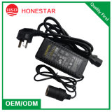 High Quality and Large Current 220V to 12V 10A Car Adapter Socket for Digital Camera and Laptop