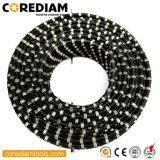 Rubber+Spring Fixing Diamond Concrete Wire in 11.5 mm Bead Diameter/Diamond Wire Saw Cutting/Diamond Tools