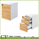 Office Furniture Movable 3 Drawers Storage Cabinet with Lock