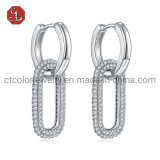 925 Sterling Silver or Brass Detachable Earrings Fashion Accessories Jewelry