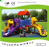 Kaiqi Plastic Series Small and Colourful Children′s Playground Set with Slides (KQ20147A)