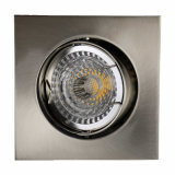 Aluminum Die Casting GU10 MR16 Square Tilt Recessed LED Ceiling Light (LT1201)