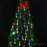 16FT 20LED Solar Powered Water Drops String Lights (RS1019)
