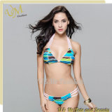 OEM Service Women Swimsuit Patterned Bikini Swimwear
