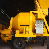 Popular Concrete Machine Jbt30 Concrete Pump with Mixer