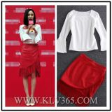 Hot Sale High Quality Latest Lady Women Dress Fashion Suit