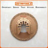 64mm (2-1/2′′) Carbide Grit Oscillating Circular Cutting Tool Saw Blade