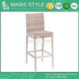 Garden Wicker Bar Stool Outdoor Rattan Bar Set Wicker Weaving Bar Table Patio Wicker Bar Stool Rattan Bar Table Hotel Project Furniture