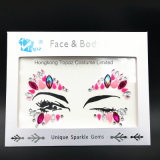 Face Jewels Rhinestones Adhesive Crystal Face Gems Beauty Body Glitter Tattoo Art Eyebrow Face Body Jewelry Sticker (SR-06)