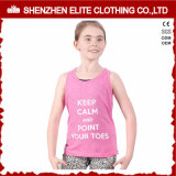 Hot Sale Cheap Custom Design Tank Top for Children (ELTWBJ-313)