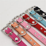 New Custom Personalised Leather Stock Dog Collar125