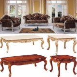 Living Room Furniture Set with Classic Fabric Sofa (932)