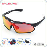 New Product Custom Sport Eyewear PC Material Anti-UV Cycling Sun Glasses