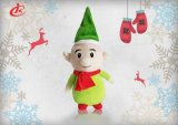 Good Price Soft Cute Stuffed Elf Plush Baby Toy for Christmas with Hat and Scarf