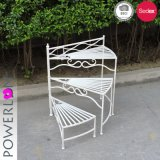 3 Tier Planter Stand Wrought Iron Outdoor Decoration