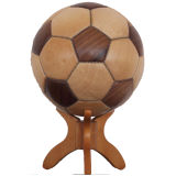 Wooden Football with Fine Quality