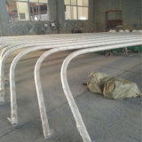 16m Q235 Steel Hot-Galvanized Street Light Post Black Post Single Arm/Double Arm