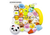 Squishies Toy Kawaii Squishy 20 PCS Set Scented Slow Rising Party Gift EDC Stress Reliever Random Jumbo Medium Mini with Phone Straps.