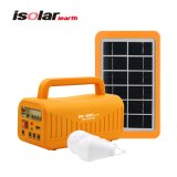 Portable Energy Home Solar System with FM Radio Solar Kit Power Generator Lamp