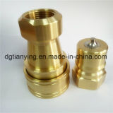 Brass Hydraulic Pneumatic Fitting for Mold Component