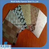 201 304 430 Titanium Gold No. 4 Brushed Stainless Steel Sheet