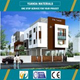 Low Cost Prefabricated Light Steel Apartment House in Maldives