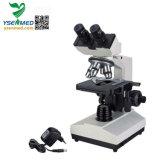 Ysxwj107bn Medical Laboratory Halogen Light Microscope Binocular