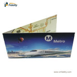 Double Printing 13.56MHz Hf Readable Writable RFID Ultralight Paper Tickets for Metro