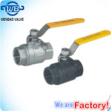 1/2 Inch 304 316 Stainless Steel Screw Ball Valve Manufacturer