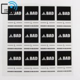 Tagless Labels for Clothing, Iron on Rubber Patch