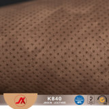 High Quality Perforated Leather Fabric PVC Leather for Making Bags