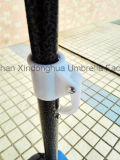 2m Black Coating Outdoor Sun Umbrella with SPF 50 (BU-0040B)