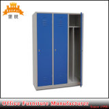 Cheap Gym Metal Locker Wardrobe Price with 3 Doors