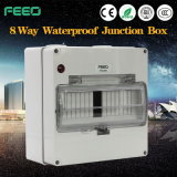 Outdoor PV System IP66 Plastic Enclosure 8way Distribution Box