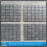 G684 Granite Flamed Mesh Paver/Cheap Floor Tiles/Cheap Patio Paver Stones for Sale