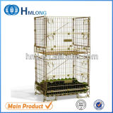Warehouse Storage Stacking Steel Wire Mesh Container for Wine Storage