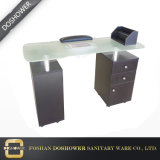 Manicure Table Salon Furniture with Glass Manicure Table