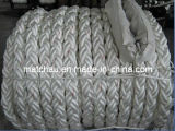 White Color 8 Strands PP Mooring Rope for Sale