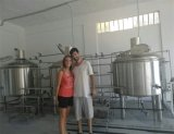 PLC Semi-Automatic Control Beer Production System From Mashing to Fermenting Process