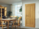 Luxury Style Interior Veneer Wood Door Skin (S2-1007)