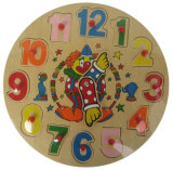 Wooden Jigsaw Puzzle Clock Puzzle