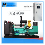 High Efficiency, 250kw Shanghai Stamford Alternator Diesel Generator Set with ATS