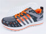 Latest Men Fashion Footwear Running Sport Sneaker Athletic Shoes with Customized (FZJ0115-4)