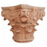 Classic Wood Carved Full Round Roman Corinthian Capital Cap-Fr-01