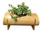 Natural Bamboo Planter Garden Flowers Pot Succulent Pot
